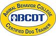 Animal Behavior College, certified dog trainer