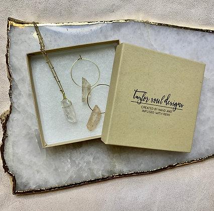 Angel Aura Quartz Gift Set