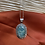 Thumbnail: Moss Agate 925 Sterling Silver Necklace