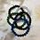Thumbnail: 8mm Crystal Beaded Bracelets