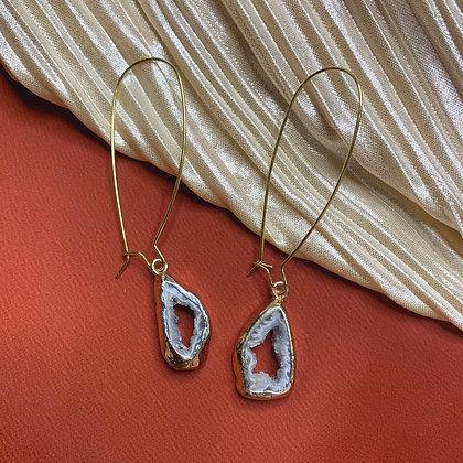 Geode Crystal Earrings
