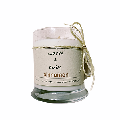 Warm and Cozy Cinnamon Candle