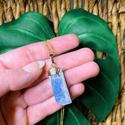 'Truthful' Blue Kyanite Necklace