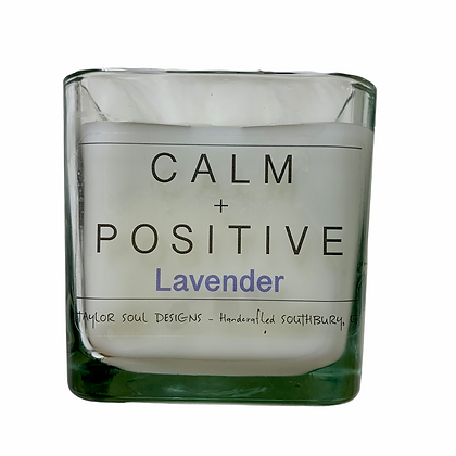 Calm and Positive - Lavender Candle