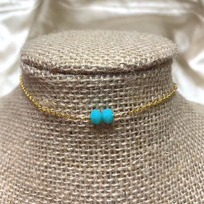 Gold Angel 'Gabriel' Choker Necklace