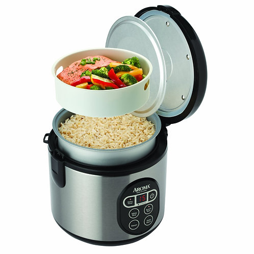 Aroma 8-Cup (Cooked) (4-Cup UNCOOKED) Digital Rice