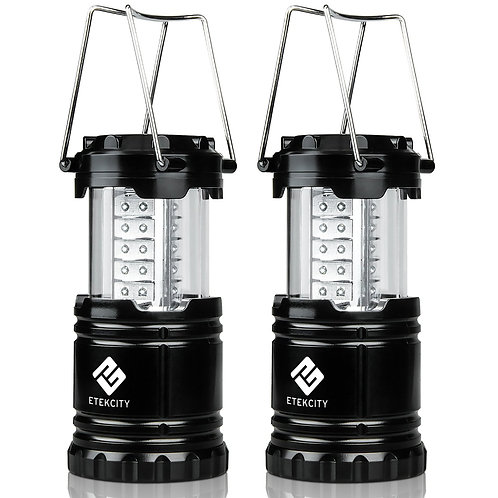 Etekcity 2 Pack Portable Outdoor LED Camping Lante