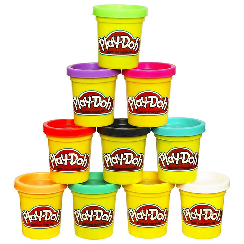 Play-Doh Case of Colors, Pack of 10