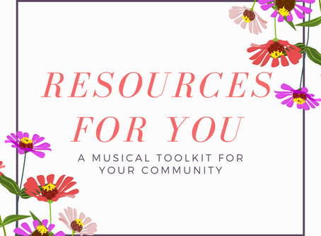 Resources For You: Music to engage the senses