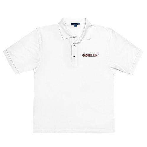 Gioielli Alt Embroidered Men's Premium Polo