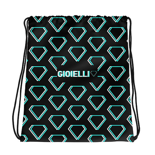 Gioielli Classic Monogram Drawstring Bag