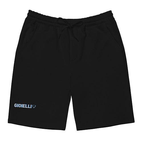 Gioielli Classic Signature Embroidered Unisex Fleece Shorts