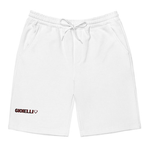 Gioielli Alt Signature Embroidered Unisex Fleece Shorts