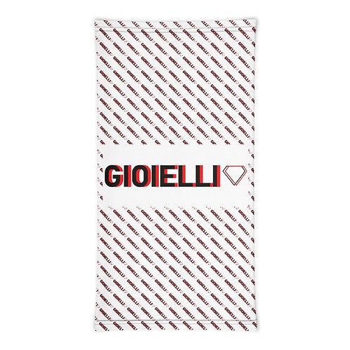 Premium Alternative Gioielli Monogram Neck Gaiter