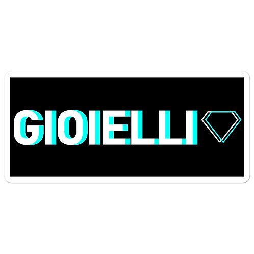 Gioielli Classic Bubble-Free Sticker