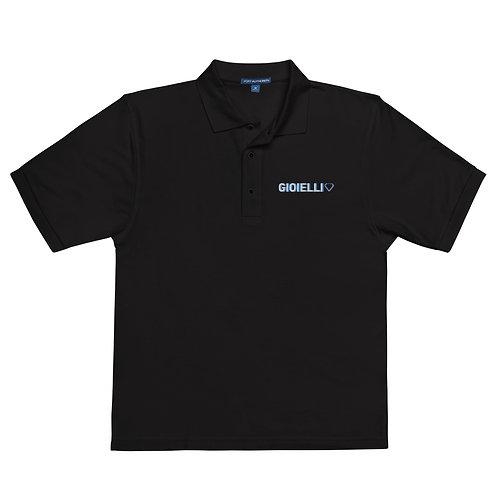 Gioielli Classic Embroidered Men's Premium Polo