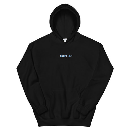 Gioielli Classic Embroidered Unisex Hoodie
