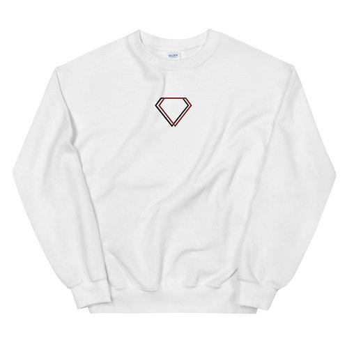 Gioielli Alt Center Embroidered Logo Unisex Sweatshirt