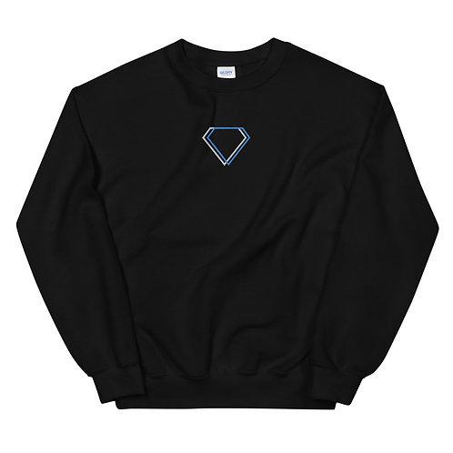 Gioielli Classic Center Embroidered Logo Unisex Sweatshirt