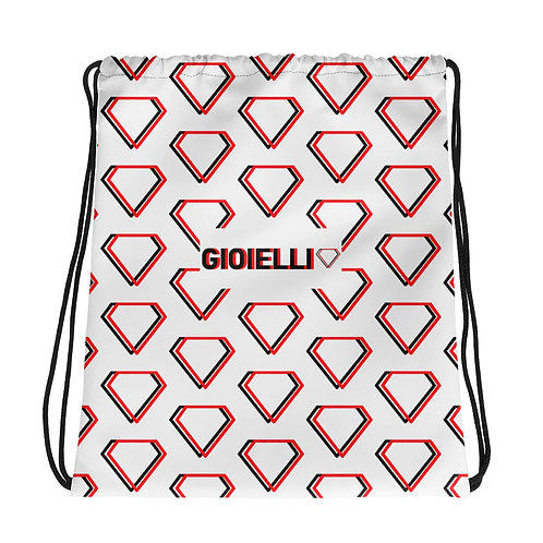 Gioielli Alternative Monogram Drawstring Bag