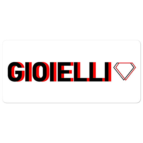 Gioielli Alternative Bubble-Free Sticker
