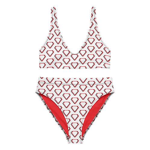 Gioielli Recycled High-Waisted Alternative Monogram Bikini