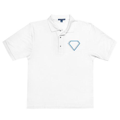 Gioielli Classic Embroidered Logo Men's Premium Polo