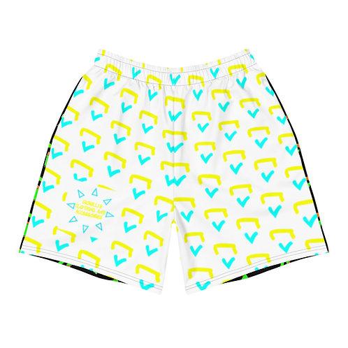Gioielli Mixed Monogram Athletic/Swim Long Trunks (Beach)