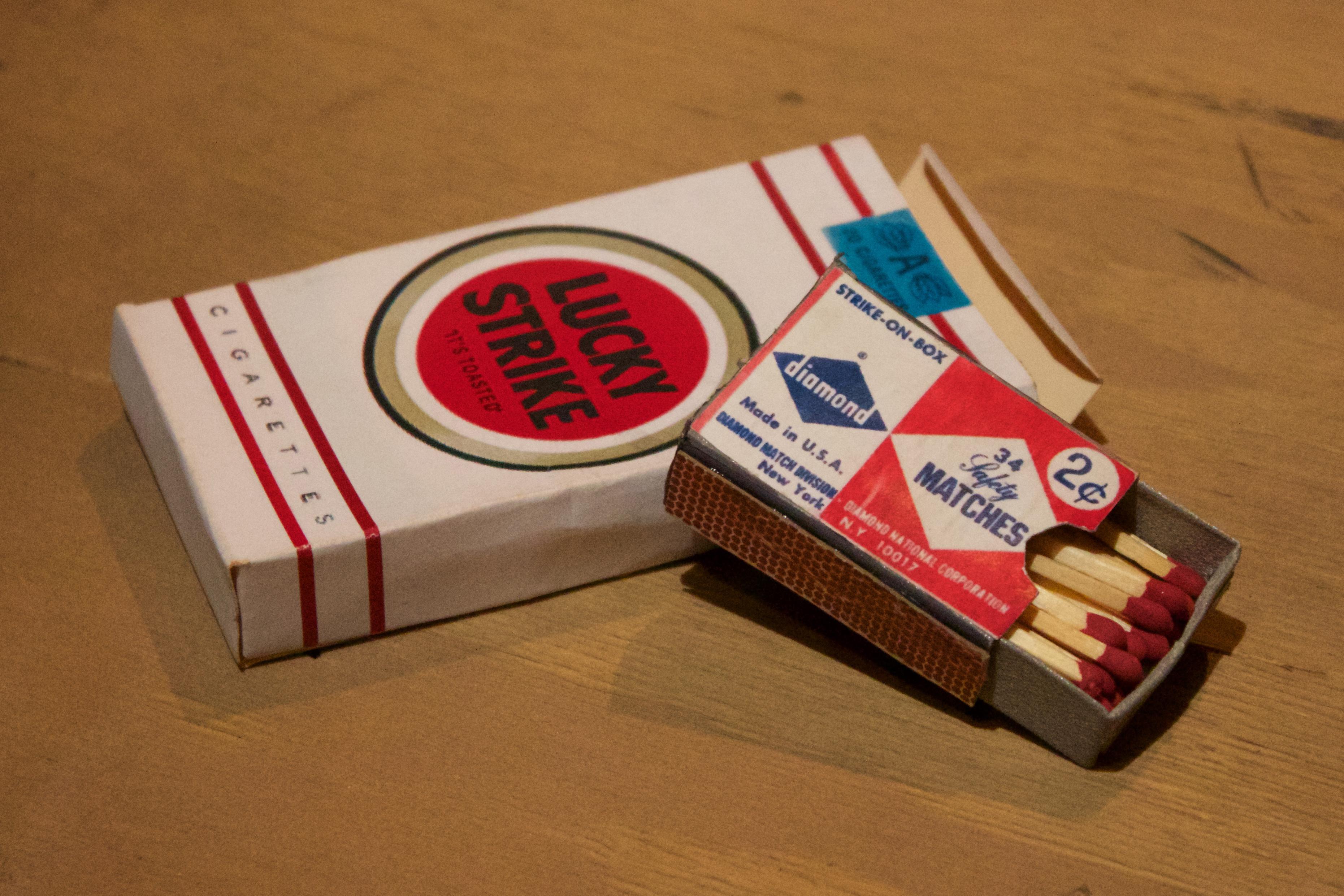 Cigarette Box | Match Box