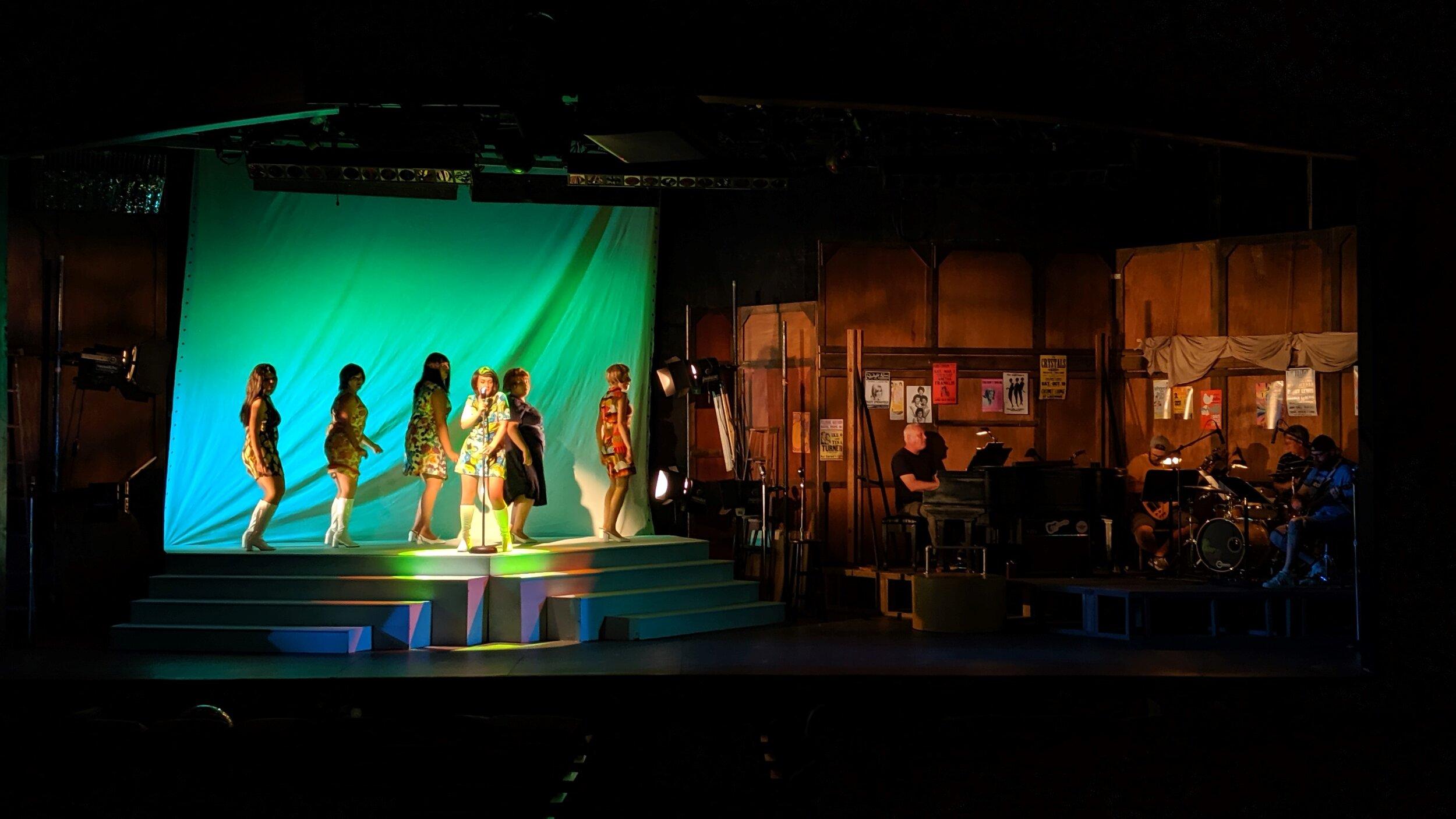 Beehive+-+Natalie+on+stage