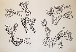 Blind Drawing Exercise