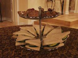 Cucumber Sandwich Platter