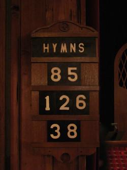 Hymnal board1