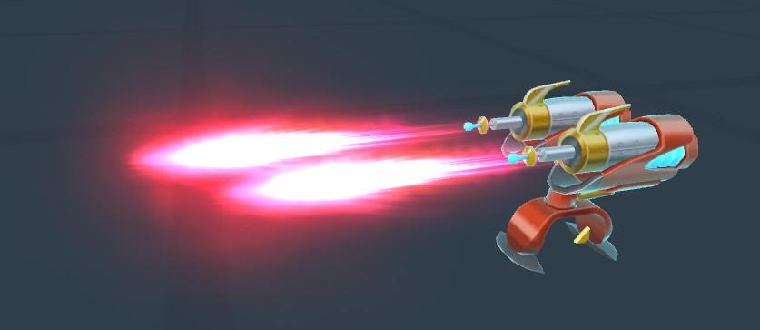Final Dual Laser Turret