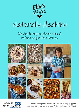 Naturally Healthy eBook - 20 vegan, gluten-free & refined sugar-free recipes