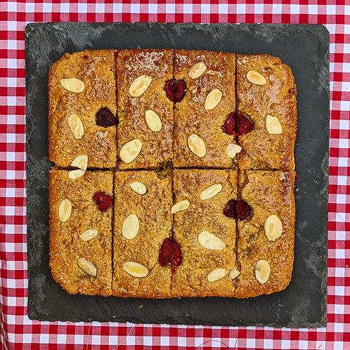 Raspberry Bakewell Slice x 8