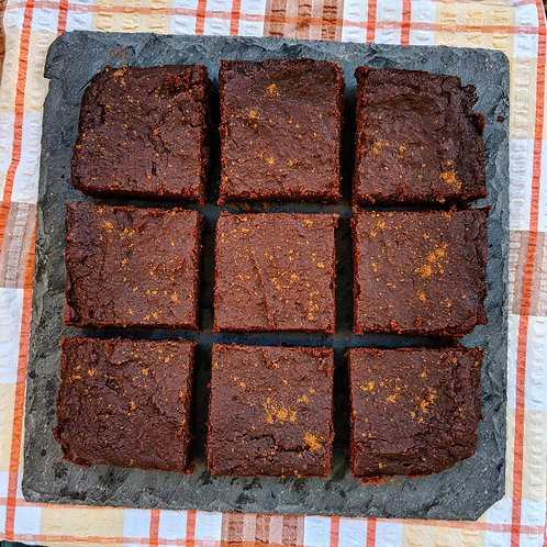 Winter Spice Chocolate Brownie x 9 squares