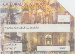 Catedral Cordoba Entrada