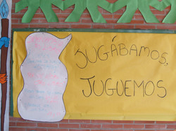 Cultural week bulletin board