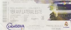 Real Madrid Ticket