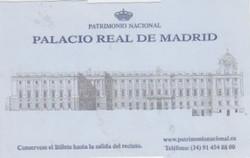 Palacio Real Entrada