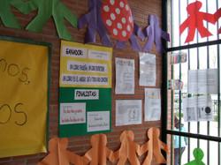 Cultural week bulletin board