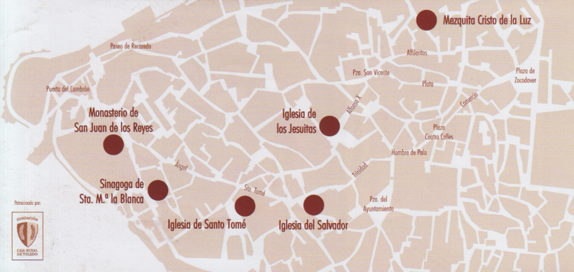Mapa de Toledo