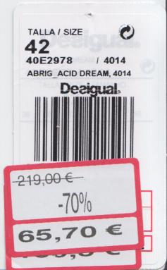 Desigual ticket