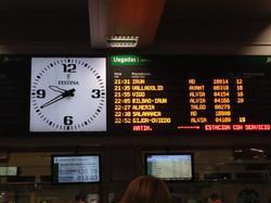 Horario de tren