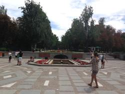Entrance to Retiro Park
