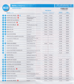 Madrid bus ruta1