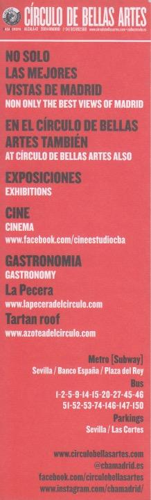 Circulo Bellas Artes