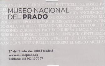 Prado Entrada