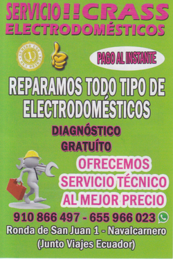 Oftera de electrodomésticos